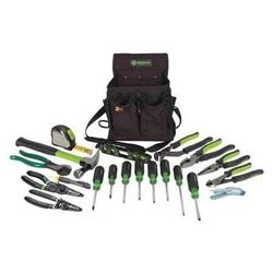 Greenlee 0159-23 Journeyman's Tool Kit- Metric- 21