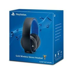 PlayStation 4 Gold Wireless Stereo Headset - Gold