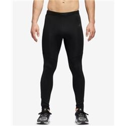 adidas Men's Response Long Tights- Black/Black- 2X