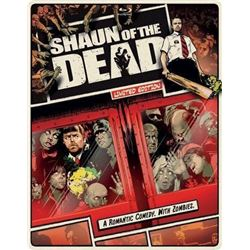 Shaun of the Dead Steelbook [Blu-ray] [Import]
