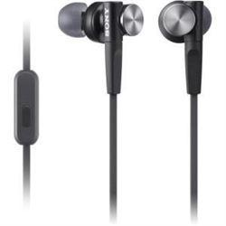 Sony MDR-XB50AP/B Extra Bass Earbud Headphones (Bl