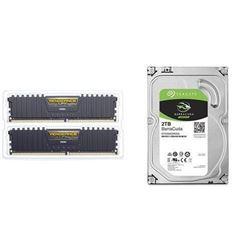 Corsair Vengeance LPX 16GB (2x8GB) DDR4 DRAM 3000M