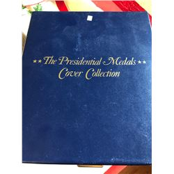 President Medals Cover Collection Mint Box Holder with card