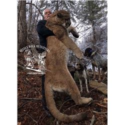 Needle Rock Outfitters Colorado Mountain Lion Hunt