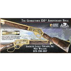 Georgetown 150th Anniversary .45-70 Rifle Artist Proof- * LATE ITEM CHANGE