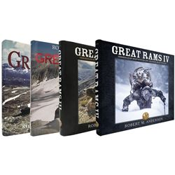 Great Rams by Robert Anderson- Volumes 1 -4 all signed