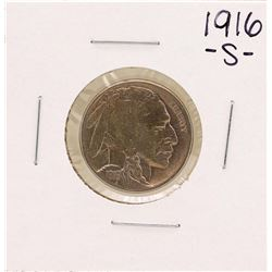 1916-S Buffalo Nickel Coin
