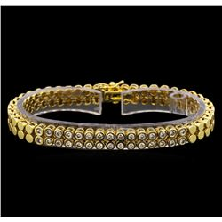 14KT Yellow Gold 1.04 ctw Diamond Bracelet
