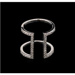 0.47 ctw Diamond Ring - 14KT White Gold
