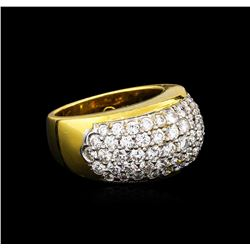 1.75 ctw Diamond Ring - 18KT Two-Tone Gold