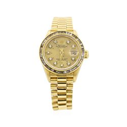 Rolex Ladies President Datejust Wristwatch