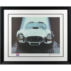 Harold James Cleworth Carroll Shelby Cobra Limited Edition Lithograph