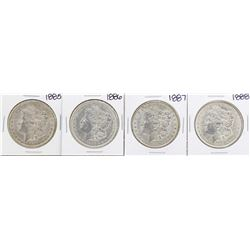 Lot of 1885-1888 $1 Morgan Silver Dollar Coins