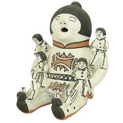 Cochiti Pottery Figure - Martha Arquero