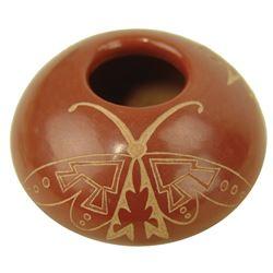 Santa Clara Pottery Jar - Golden Rod
