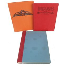 3 Indian Collector's Books