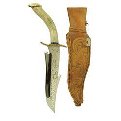 Large Knife and Sheath