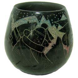 Santa Clara Pottery Jar - Ergo Vallo (1959-2005)