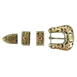 Silver and Gold Ranger Buckle