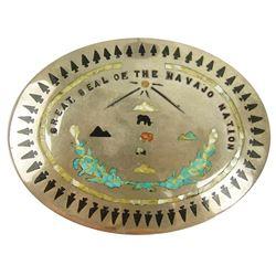 Navajo Belt Buckle