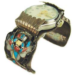 Zuni Inlay Watchband