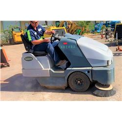 2013 Exterra 6340 Ride-On Outdoor Sweeper, 1603 Hours (Runs & Works, See Video)