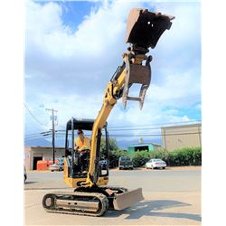 2013 CAT 302.4D Mini Excavator w/ Bucket, 6K, 1562 Hours (Runs & Works, See Video)