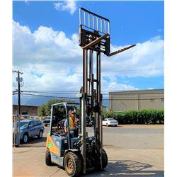2006 Doosan Forklift 6K w/ Automatic Fork-Width Adjustment (Runs, Drives & Lifts, See Video)