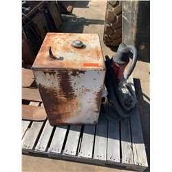 Metal Fuel Tank w/ Hose & Pump