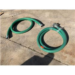 Qty 2 Water Hoses