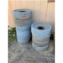 Qty 10 Used Manlift Tires