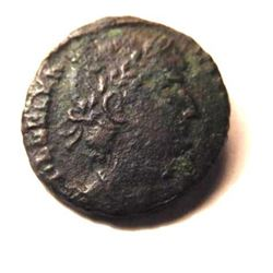 Bronze Coin of Delmatius (335 - 337 A.D.)