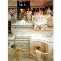 6 X 8 Art Alma- Tadema Favorite Custom Ceramic Mural Backsplash Bath Tile