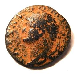 Provincial Bronze Coin of Domitian: 69 - 96 A.D.