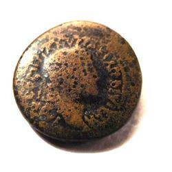 Provincial Bronze Coin of Domitian: 69 - 96 A.D. - Rare!