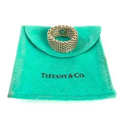 Tiffany & Co Somerset Sterling Mesh Ring