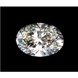 14 carat Oval Brilliant Cut BIANCO� Diamond