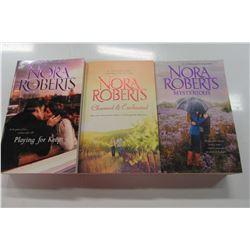 THREE NEW NORA ROBERTS POCKET BOOKS