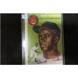 1953 CLEVELAND INDIANS COLLECTOR BASEBALL CARD