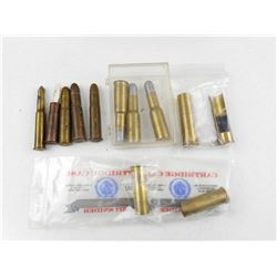 ".577 SNIDER BRASS, .303 BRITISH AMMO, 45-1 7/8"" BRASS 303 UMPRIMED BLANK, 45 MH PRIMED BRASS, AND PR"