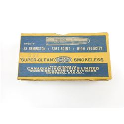 CIL .35 REMINGTON SOFT POINT AMMO