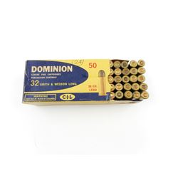 32 SMITH & WESSON LONG AMMO