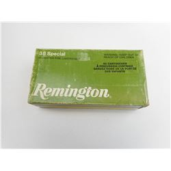 38 SPECIAL REMINGTON AMMO