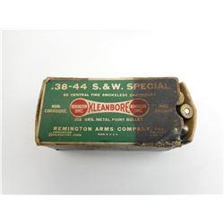 38-44 S & W SPECIAL BY REM-UMC AMMO