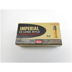 IMPERIAL .22 LR HIGH VELOCITY AMMO
