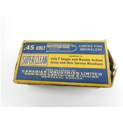 .45 COLT SUPER CLEAN AMMO