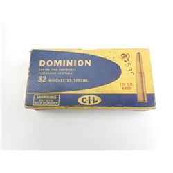 32 WINCHESTER SPECIAL SP AMMO