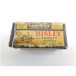 ".22 LONG RIFLE ""BISLEY"" TARGET AMMO"
