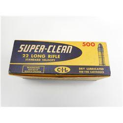 CIL SUPER CLEAN 22 LONG RIFLE AMMO