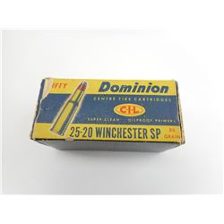25-20 WINCHESTER SP AMMO
